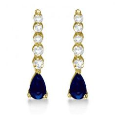 Yellow Sapphire Rings, Sapphire Jewelry, Sapphire Earrings, Sapphire Diamond, Gemstone Earrings, Drop Earrings, Latest Jewellery Trends, Jewelry Trends, Birthstone Gems