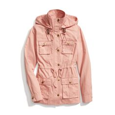 Stitch Fix Spring Outerwear: Blush Pink Anorak. Nice color. Would like something like this for spring
