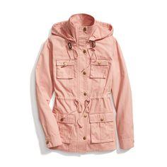 Stitch Fix Spring Outerwear: Blush Pink Anorak