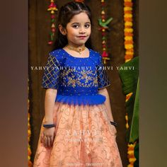 Dress Outfits Work Necklaces 44 Ideas For 2019 Girls Frock Design, Kids Frocks Design, Baby Dress Design, Kids Lehanga Design, Lehanga For Kids, Frocks For Girls, Dresses Kids Girl, Kids Outfits, Baby Dresses