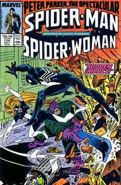 Peter Parker, The Spectacular Spider-Man # 126 by Al Milgrom