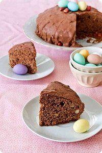 Come trasformare il cioccolato delle uova di Pasqua in una meravigliosa torta al cioccolato