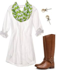 Cute White Country Dress
