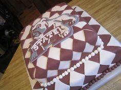 Mississippi State cake
