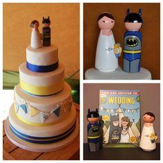 Batman topper by Love on Top.