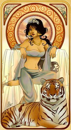 Disney Princess Art :: Jasmine