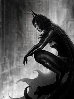 Batgirl by Nathan Szerdy
