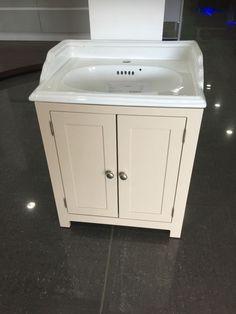 Painted Shaker Traditional Vanity Wash Stand Unit wide Bathroom Cabinet, in Home, Furniture & DIY, Bath, Sinks Small Bathroom Vanities, Bathroom Basin, Bathroom Ideas, Bathrooms, Basin Vanity Unit, Vanity Sink, L Shaped Bathroom, Wash Stand, White Vanity