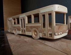 Wooden single-decker bus waldorf toy trolleybus car eco | Etsy Beauty Salon Equipment, Handmade Wooden Toys, Waldorf Toys, Wood Toys, Dremel, Home Crafts, Kids Toys, Woodworking, Design