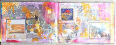 art journal spread #15 Journal, Abstract, Artwork, Painting, Summary, Work Of Art, Auguste Rodin Artwork, Painting Art, Artworks