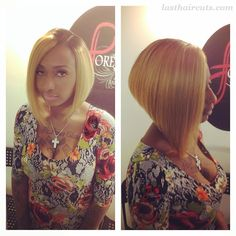 Top 21 Best Bob Hairstyles for Black Women #BobHaircuts