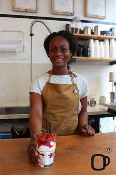 Ecco un piccolo pezzo del nostro #staff sempre pronto ad accogliervi e a coccolarvi con i nostri piatti! ;)