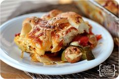 Pizza and Breadstick Casserole