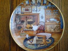 1992 Saturday Night Bath Franklin Mint Collector Plate w/Certificate of Authen.