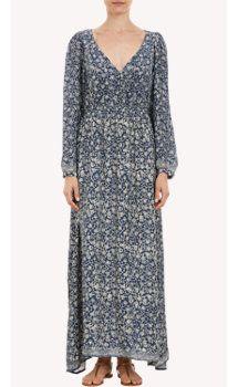 "Natalie Martin Floral-Print ""April"" Maxi Dress"
