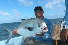 A nice Permit  I caught on our winter trip to Caye Caulker Belize, fishing with Anglers Abroad and Capt Haywood Curry