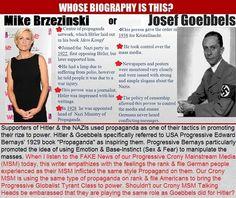 @MSNBC Host: Mika Brzezinski ~ It's Media's job to control what you think http://www.infowars.com/msnbc-host-its-medias-job-to-control-what-you-think/ #MSM #FAKENews @Wikileaks @realDonaldTrump [Goebbels]