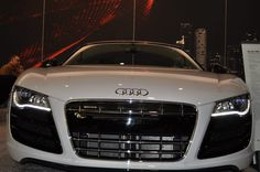 Audi R8 Spyder's beautiful grill