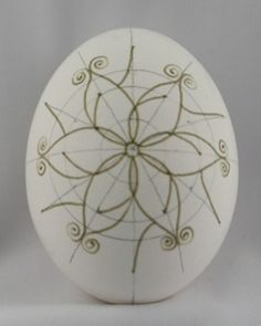Snowflake Pysanka Step-by-Step: Wax