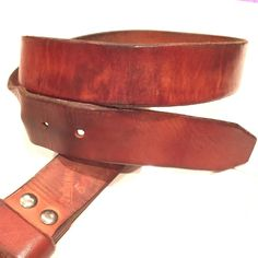 A customer sent in this photo of his natural belt with a beautiful patina. This is why the natural leather is our favorite leather each piece is unique and tells its own story. #1350Leather #MadeInAmerica #ShowUsYourPatina