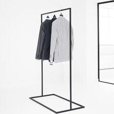 Leinen 90 x 50 x 160 cm HIGH LIVING Kleiderst/änder