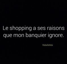 #bemantra #funny #quote #citation #french #shopping