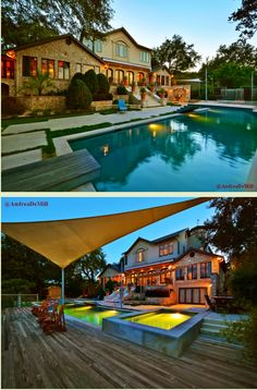 Jensen and Danneel's new house in Austin...click through...