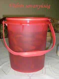 VÖDRÖS SAVANYÚSÁG 1. Tupperware, Bucket, Cukor, Buckets, Tub, Aquarius