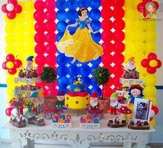 Decoração provençal Branca de Neve | Menina Prendada Festas Personalizadas | Elo7