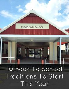 Starting back to school traditions with kids can be fun, inspiring, and create new memories for many years to come. Growing up, I remember my mom decorating the house, making a special ice cream sunda ...