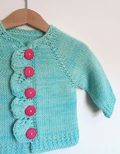 "Free Pattern: Cascade pattern by Raya Budrevich (use 3 MO size, with smaller needles for 18"" dolls)"