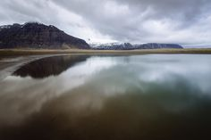 REFLECTIONS, Iceland / This photo was processed using @presetbase for landscape & nature photography.