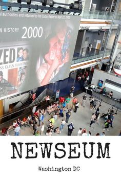NEWSEUM in Washington DC – The Story Behind the Story This is one of the best museums in Washington DC. The NEWSEUM shows you the history of journalism and what goes into a story. The Pulitzer Prize photography collection will take your breath away!