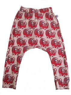 Baggy bukser med dukkevogne