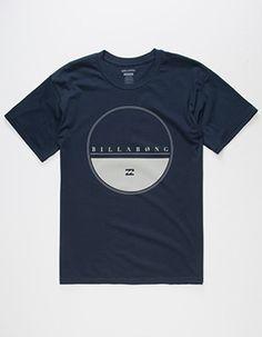 BILLABONG Equator Mens T-Shirt Blue