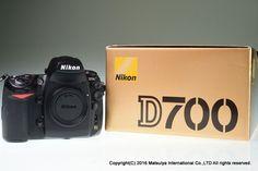 NIKON D700 Body 12.1 MP Digital Camera 6652 Shutter count Excellent+ #Nikon