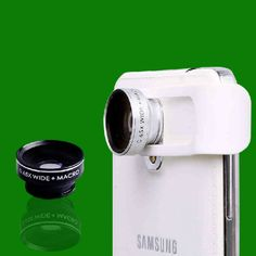 Camera Clips Wide Macro Photography Lens External Lens Artifact Self