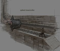 Spiked Steamroller | Video Games Artwork