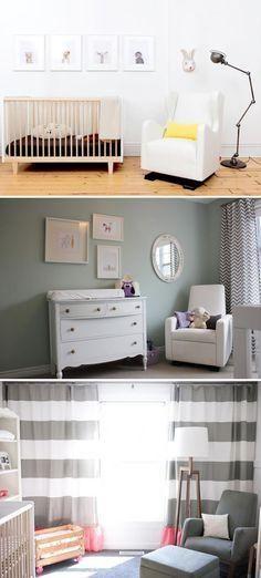 Nursery decor ideas.