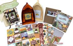 BoBunny Take a Hike Paper Collection - Outdoor & Camping Paper to Capture your Summer Adventures.
