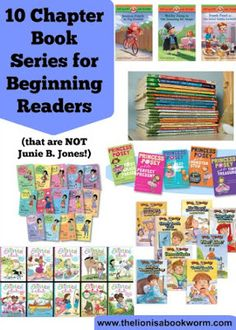 Ideas of chapter books series for beginning independent readers (age 4-7)