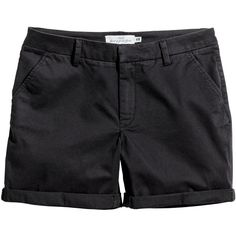 Cotton Shorts $19.99 (£16) ❤ liked on Polyvore featuring shorts, cotton shorts and zipper shorts
