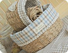 Weaving a Provence Paper Twine  Basket. DIY Tutorial.