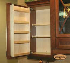 Hafele - Cabinet door mounted spice rack can also be put on slide out track   For the Home   Pinterest   Door mounted spice rack Furniture handles and ... & Hafele - Cabinet door mounted spice rack can also be put on slide ...