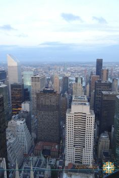 Top of the Rock - New York www.aquelelugar.com.br  #aquelelugar #newyork #eua