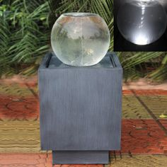 Torino Zinc Metal Vortex Led Lit Water Feature Ukwaterfeatures Barnsley Outdoor Features