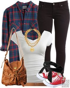 13. #Maybe Not the Necklace? - Have You #Planned Your Back to School #Outfit Yet? → Teen #Preppy