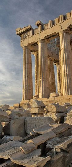 Parthenon, Acropolis, Greece. For luxury hotels in Athens visit http://www.mediteranique.com/hotels-greece/athens/