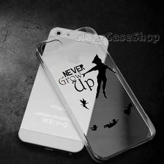 Peter Pan Never Grow Up for iphone 4 case iphone by CLEARCASESHOP, $13.00