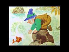 Het Gouden Visje - Sprookje van De gebroeders Grimm met plaatjes